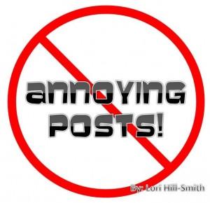 Annoying Posts