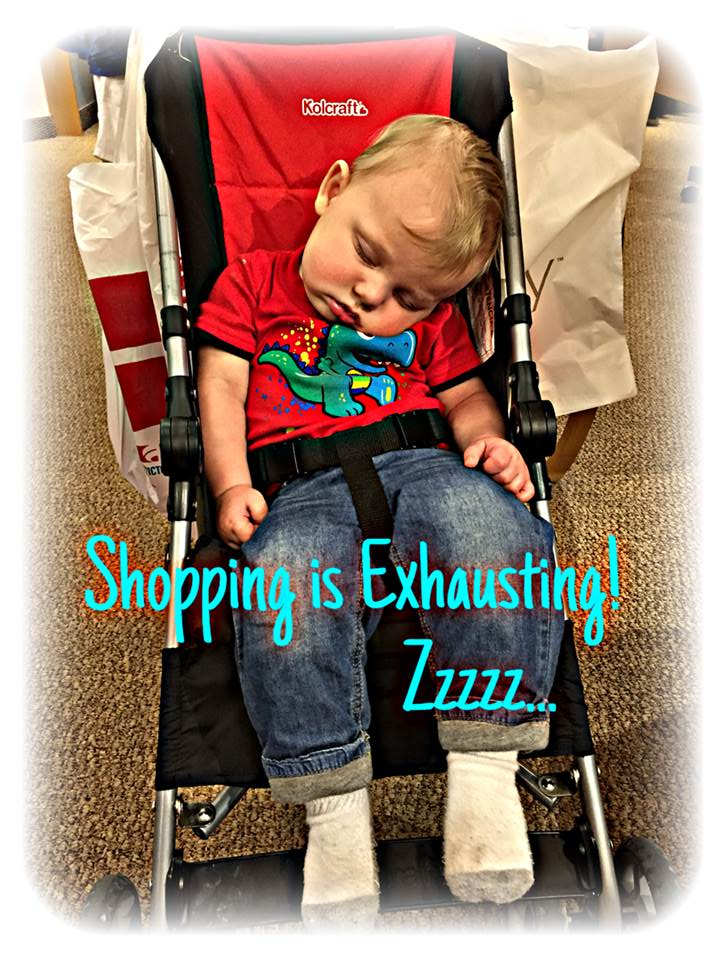 Shopping is Exhausting