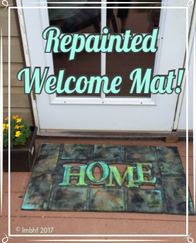 Refurbished Welcome Mat
