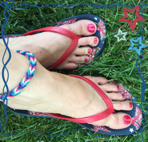 4th of July Feet!