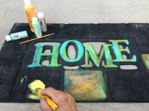 Repainting Welcome Mat