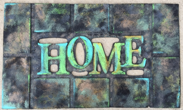 Repainted Welcome Mat
