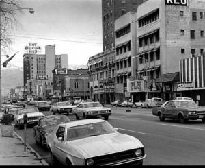 Downtown Ogden, UT approximately 1970s.