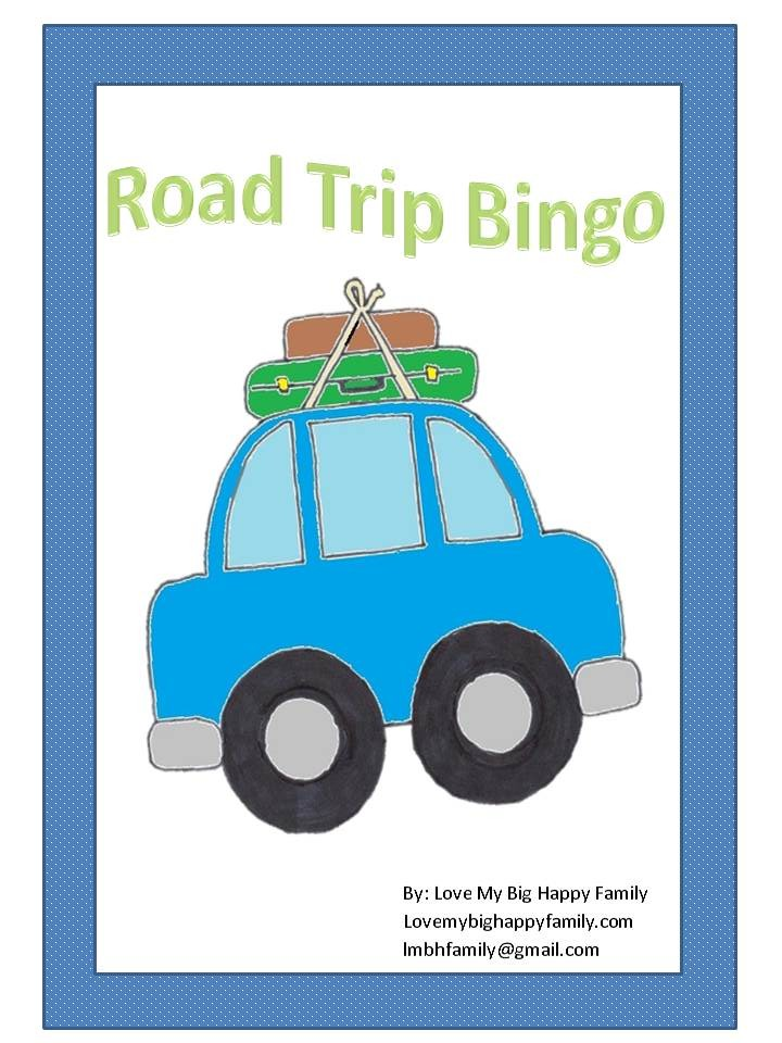 Road Trip Bingo Cover