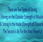 Two Types of Strong