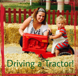 Driving a Tractor!