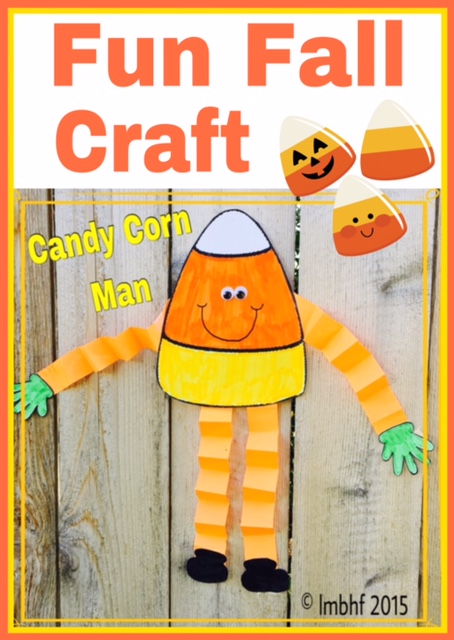 graphic relating to Candy Corn Printable identify Sweet Corn Person Printable Craft - Downloadable Craft for Children