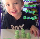 Homemade Kool-Aid Play Dough