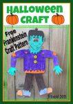 Frankenstien Halloween Craft