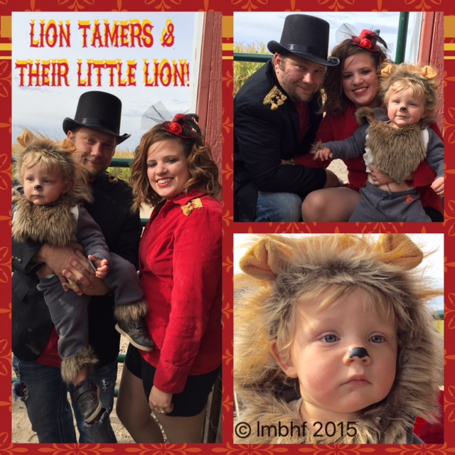 Lion Tamers and Their Little Lion