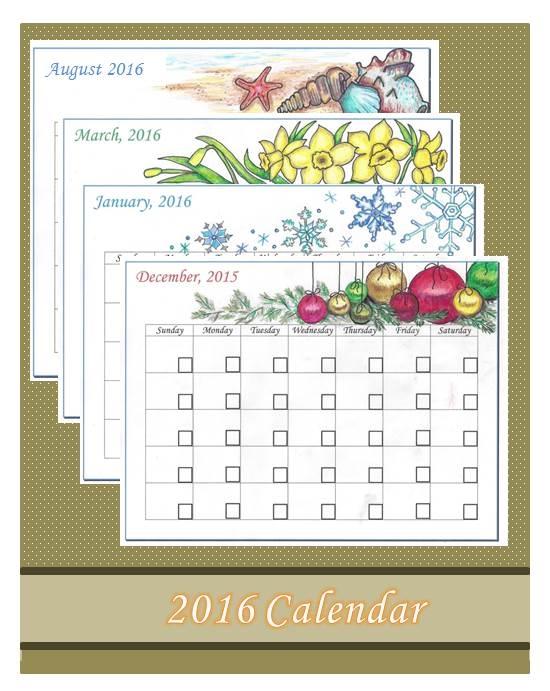 Calendar 2016 Advertisement 12.15