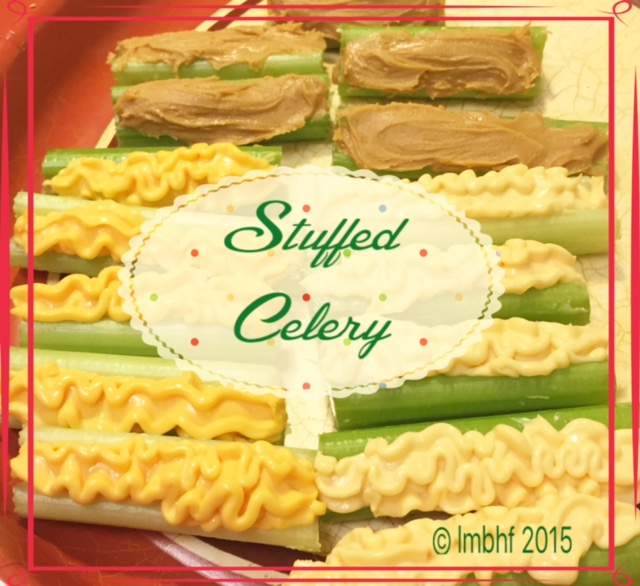 Stuffed Celery - A Thanksgiving Tradition