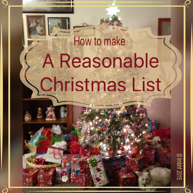 A Reasonable Christmas List