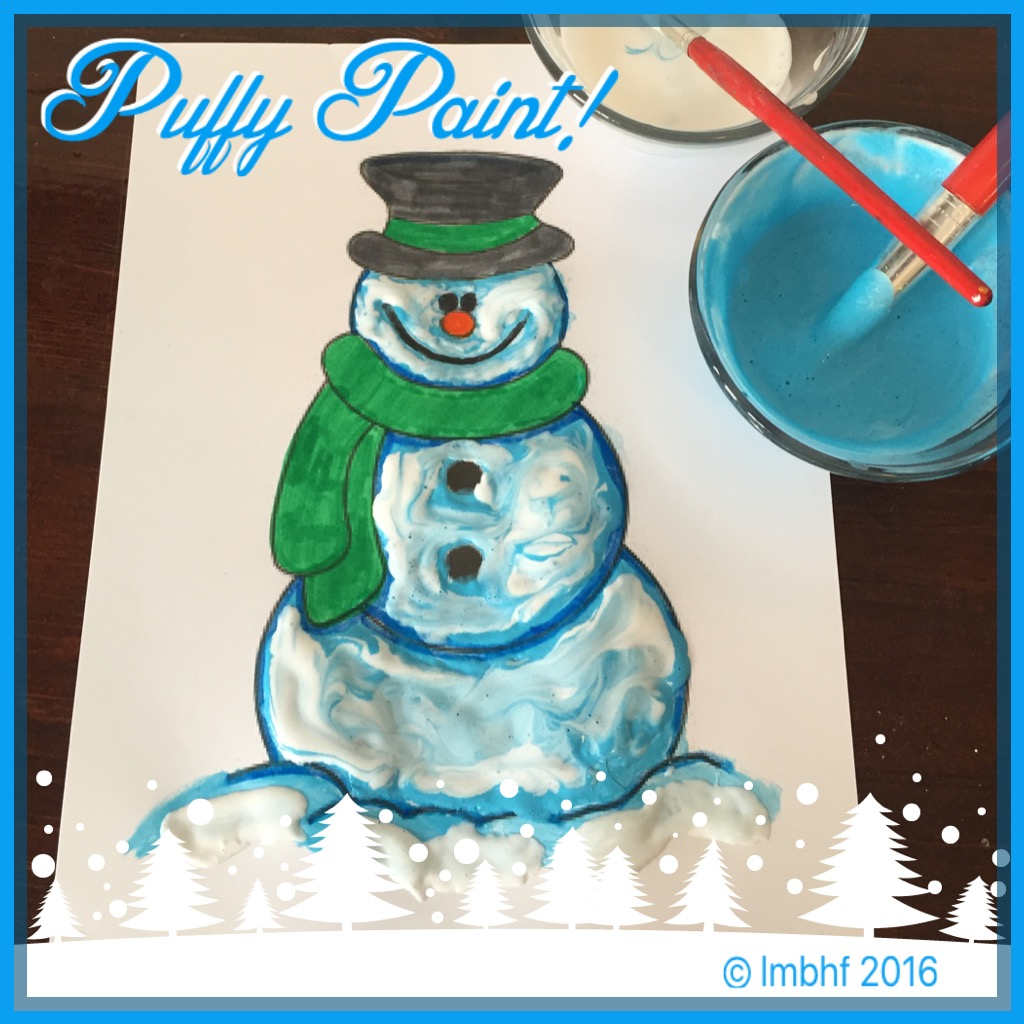 Puffy Paint!