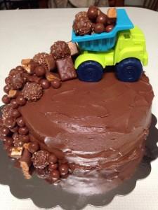 Miscellaneous Dump Truck Cake
