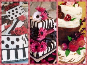 Wedding Cake Collage