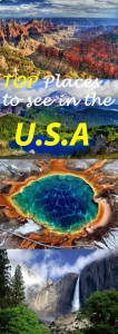 Top Places to See in the USA
