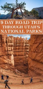 9 Day Road Trip Through Utah's National Parks