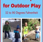 Playing Outside is Good for Kids