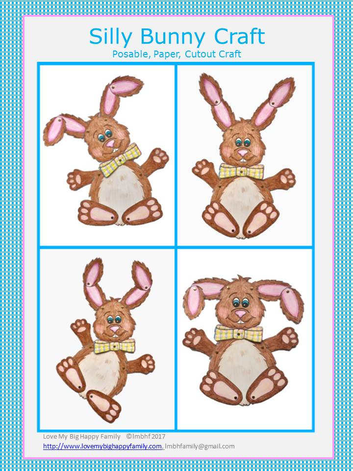 Silly Bunny Craft