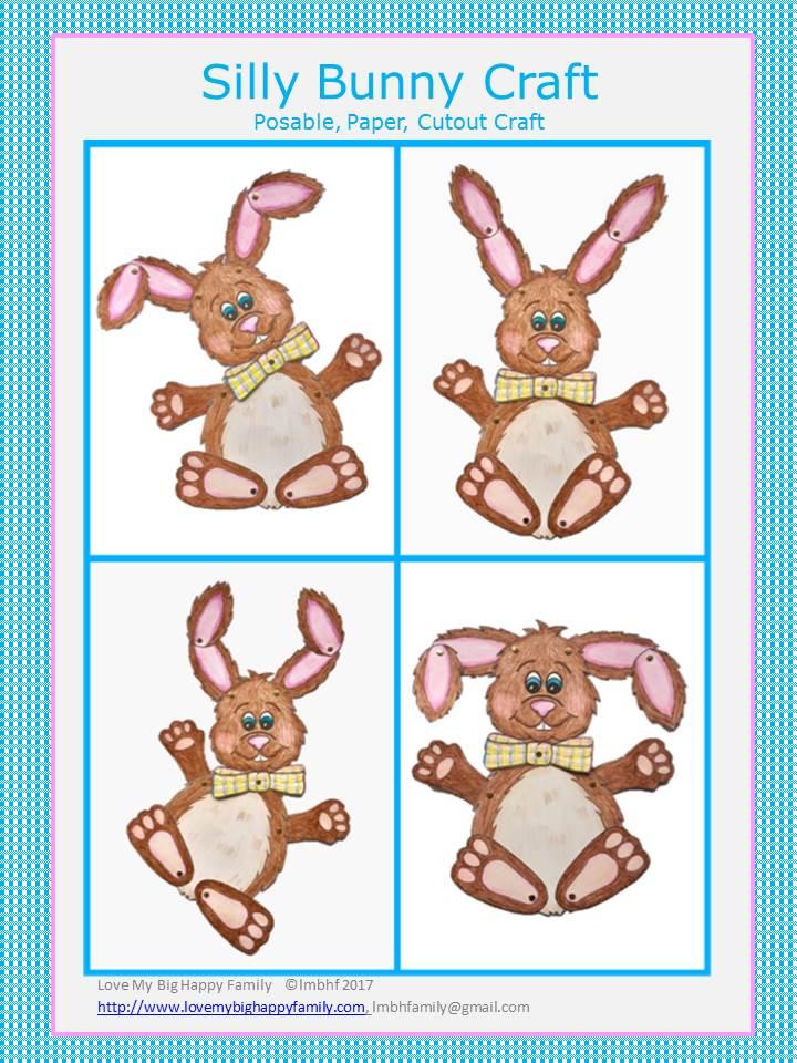 Silly Bunny Craft