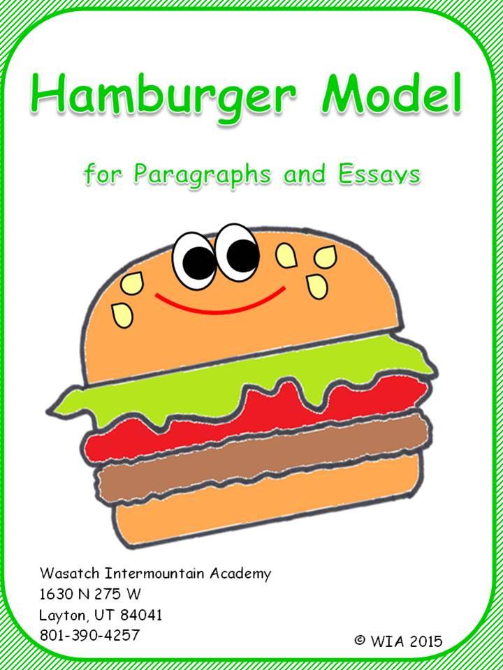 Hamburger Essay Organizer   Docoments Ojazlink