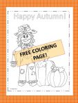 Happy Autumn Scarcrow