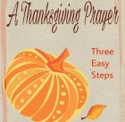 how-to-write-a-thanksgiving-prayer