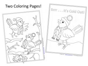 New Year's Coloring Page - 2020