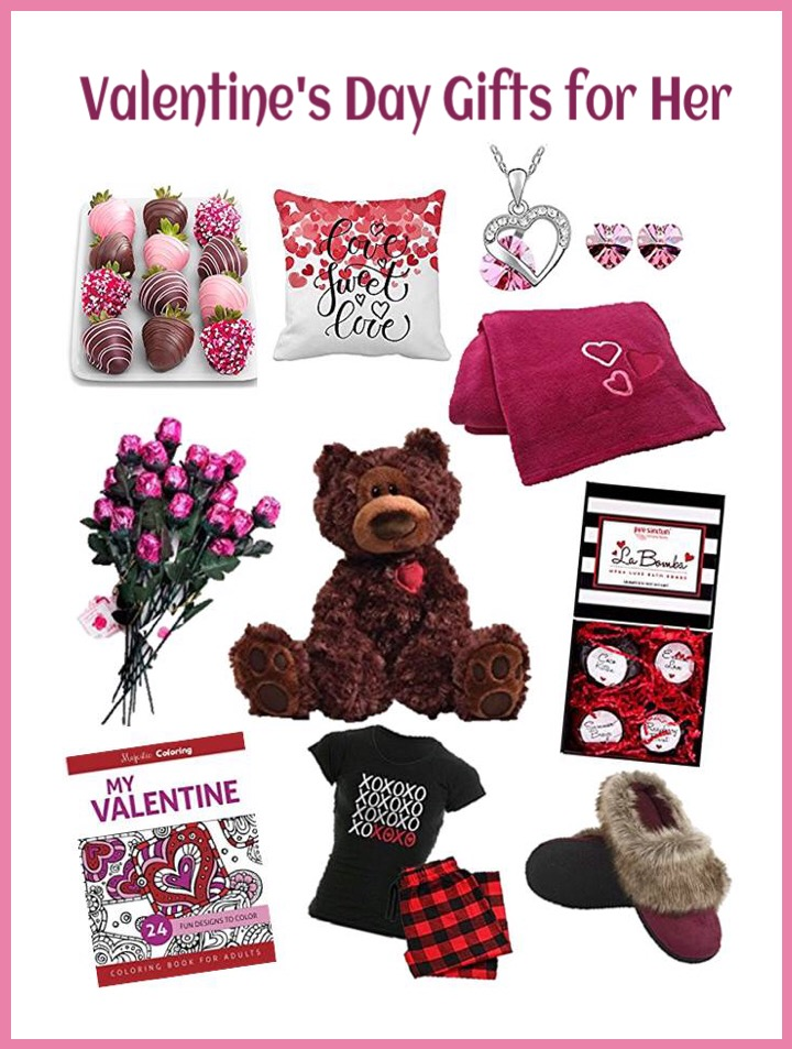 Valentines gifts for her gift baskets for day for him for Valentines day gift ideas her