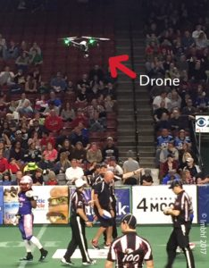 Arena Football & Drones!
