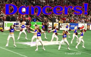Arena Football Dance Team