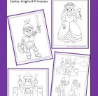 Fairytale Castle, Knight and Princess Printable!