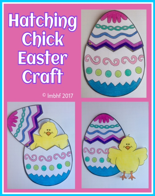 Easter Cut Out Craft