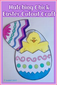 Easter Paper Cut Out Craft
