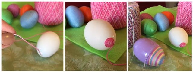 Wrap Eggs in Floss