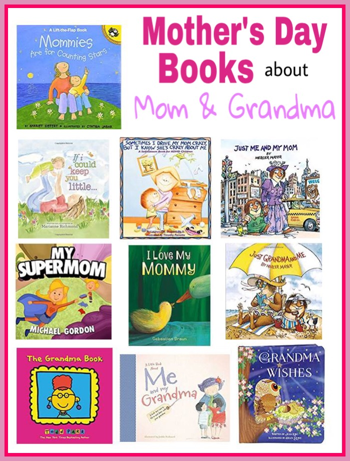Books about Mom and Grandma