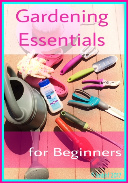 Gardening essentials for beginners love my big happy family for Gardening tools beginners