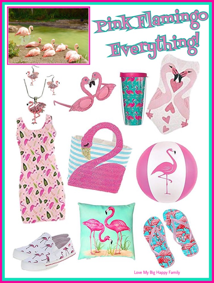 Pink Flamingo Everything!