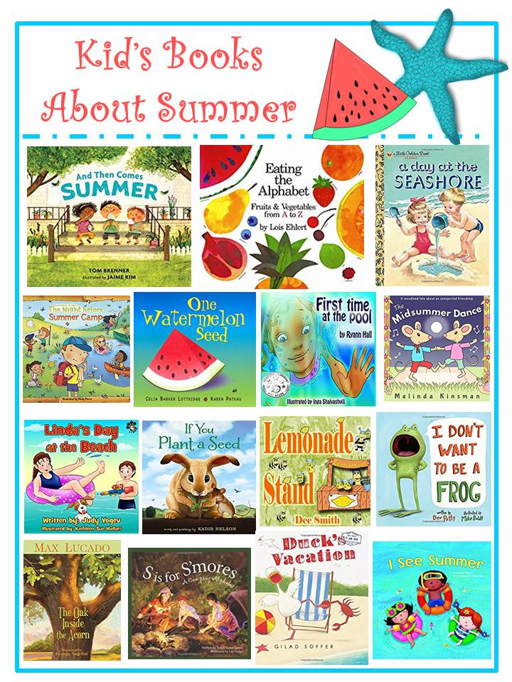 Kid's Books About Summer