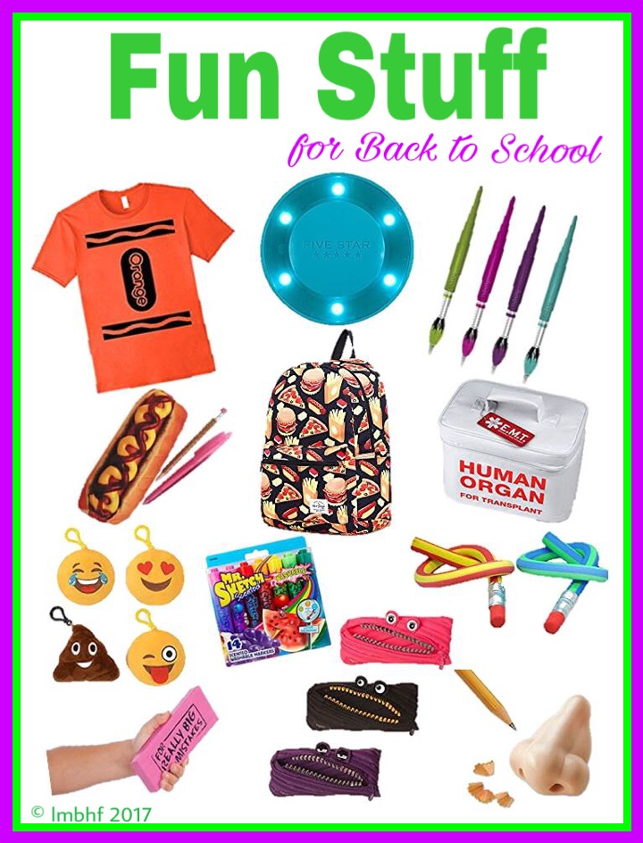 Fun Stuff for Back to School