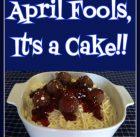 April Fool's Day Prank - It's a Cake!