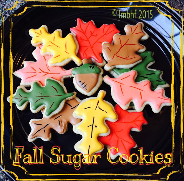 Autumn Leaf Sugar Cookies