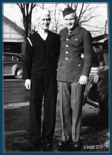 My Dad & Uncle Lloyd