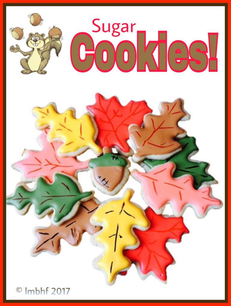 Fall Leaf Sugar Cookies