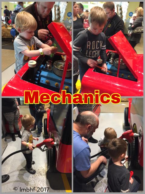 Pretending to be Mechanics