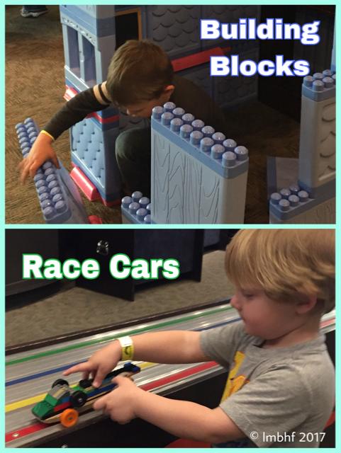 Blocks and Race Cars!