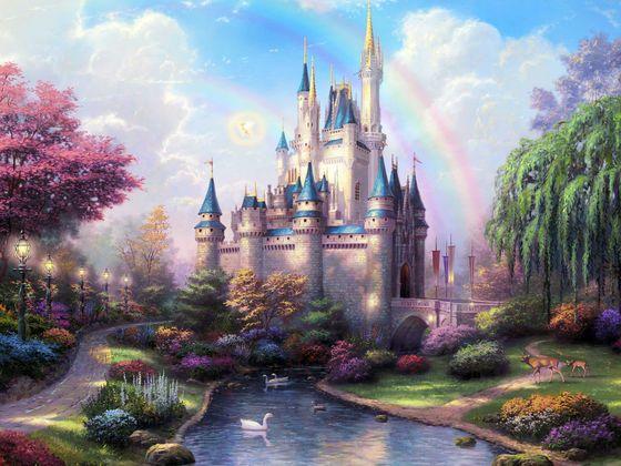 Castle from Cinderella