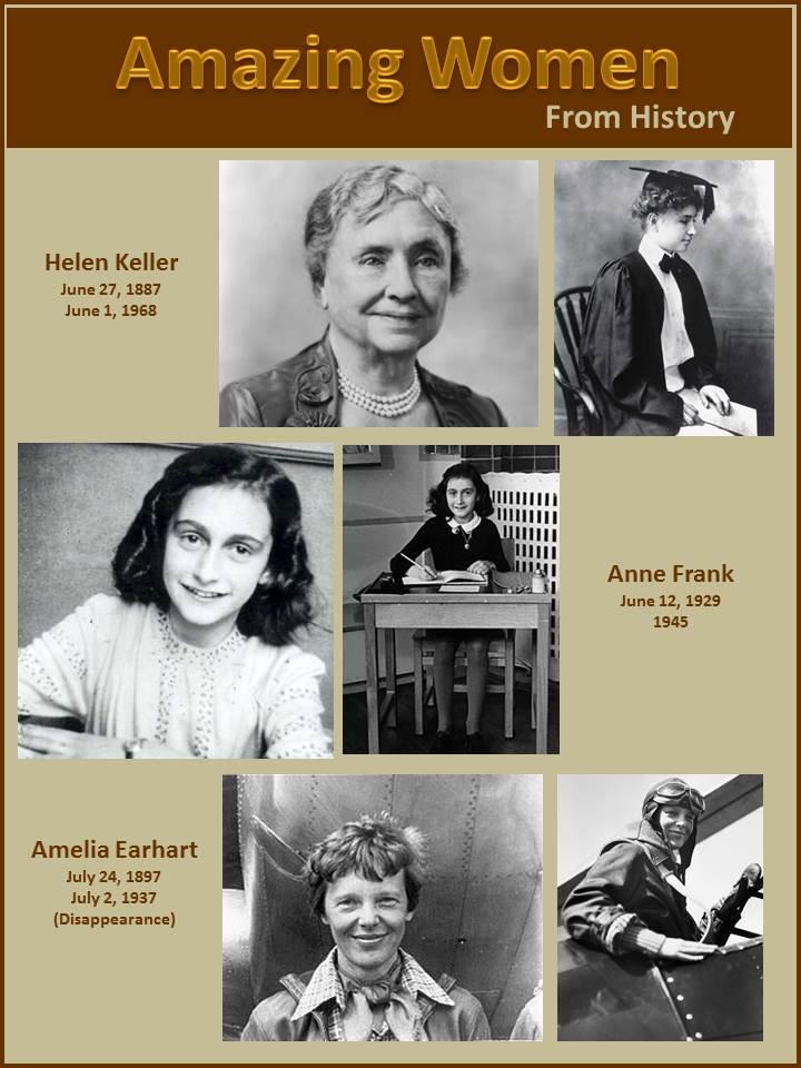 Amazing Women from History